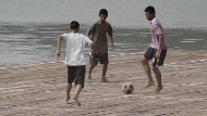 How Do You Play Soccer If You Live On A Floating Village?
